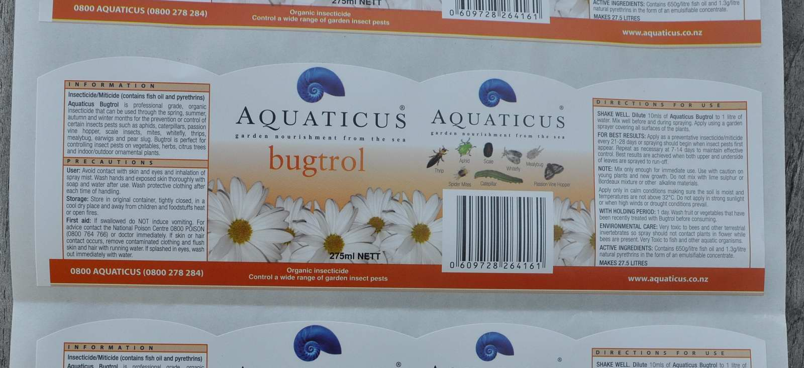 Aquaticus Bugtrol Label30001