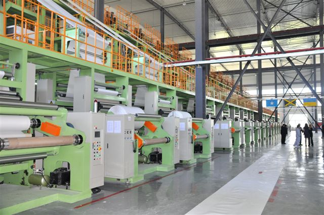 Paper machine line Building Lores