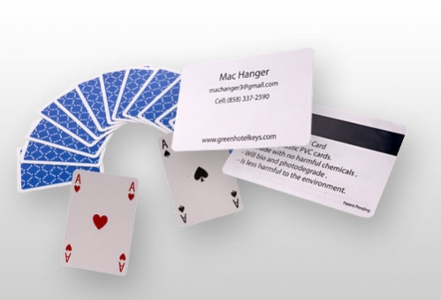 Loyalty cards, playing cards