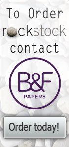 To order Rockstock contact B&F paper